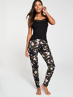v-by-very-mix-amp-match-floral-printed-pyjama-pants-ndash-black-floral