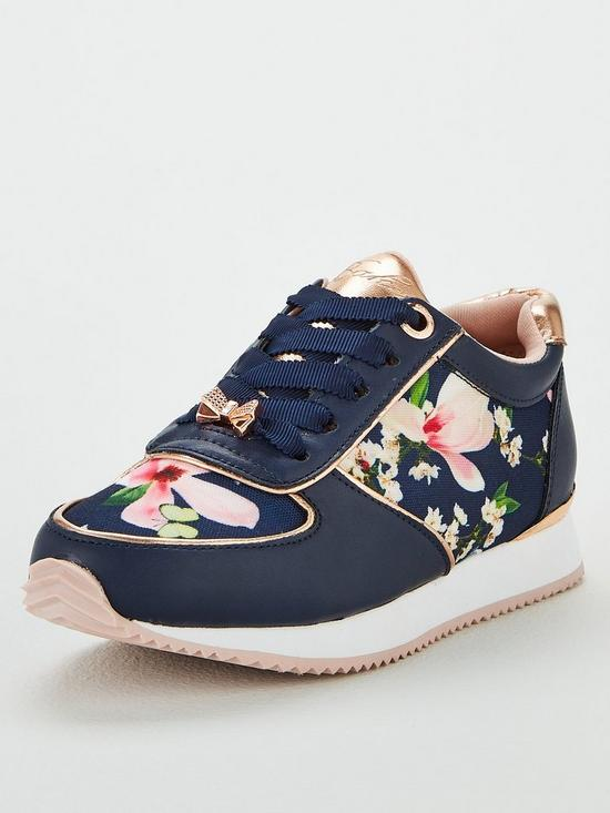 f243c4b8e Baker by Ted Baker Girls Floral Trainer