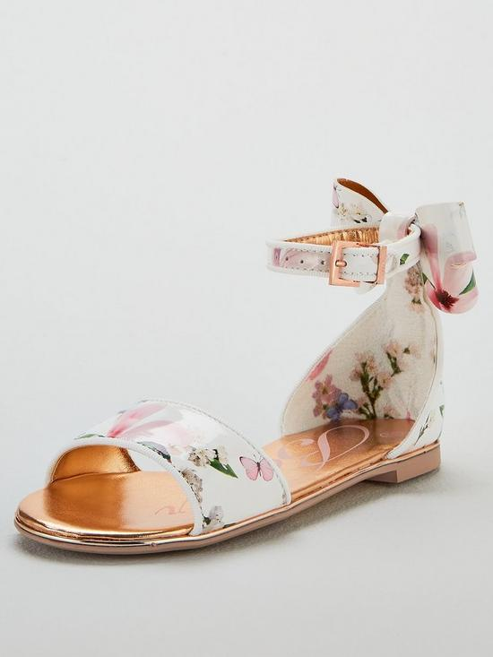 6a6dcfa6f293 Baker by Ted Baker Girls Harmony Print Sandals - Multi