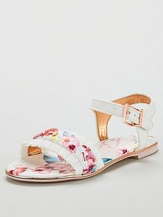 5e5781647 Baker by Ted Baker Girls Floral Frill Sandal