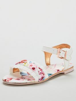 baker-by-ted-baker-girls-floral-frill-sandal