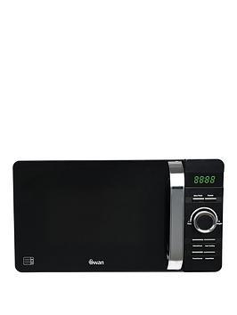 Swan 20-Litre Digital Microwave - Black