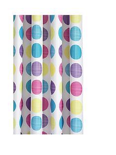 croydex-textured-dot-shower-curtain