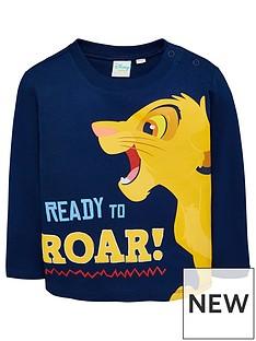 disney-the-lion-king-baby-boys-roar-t-shirt-navy