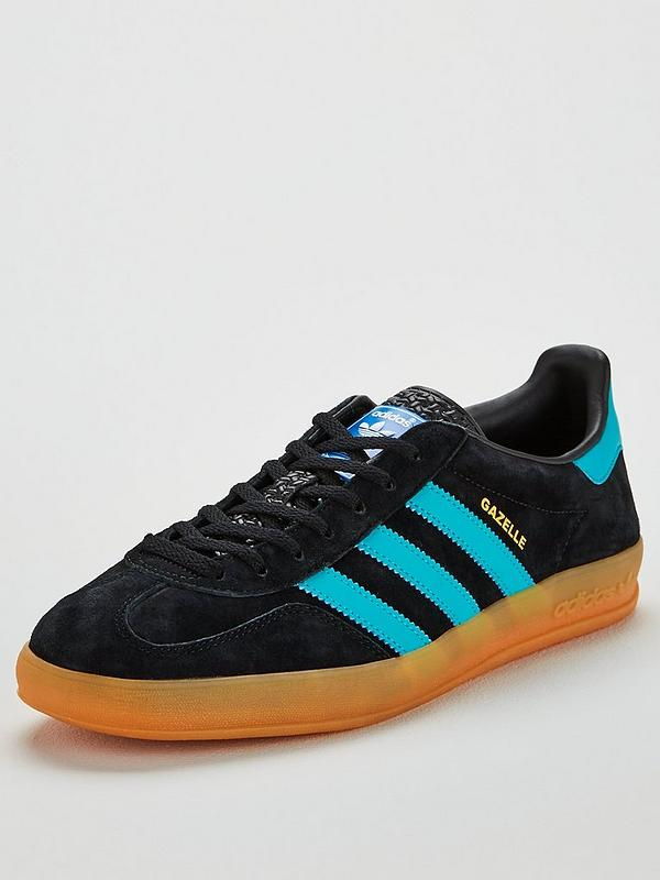 detailed look sneakers order Gazelle Indoor - Black/Blue