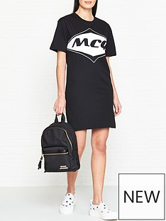 mcq-alexander-mcqueen-logo-t-shirt-dress-black