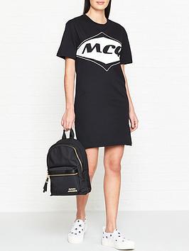mcq-alexander-mcqueen-logo-t-shirt-dress-black