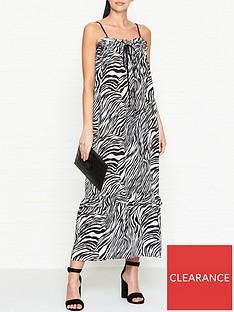 mcq-alexander-mcqueen-zebra-print-silk-maxi-dress-blackwhite