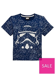 star-wars-boysnbspneppynbspfoil-t-shirt-navy