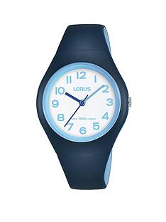 lorus-lorus-100m-water-resistant-white-and-blue-dial-blue-silicone-strap-kids-watch