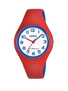 lorus-lorus-100m-water-resistant-white-and-blue-dial-red-silicone-strap-kids-watch