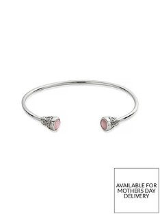 chlobo-sterling-silver-pure-luck-bangle