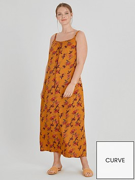 evans-floral-printed-crinkle-maxi-dress-yellow