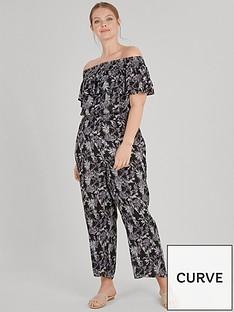evans-palm-print-jumpsuit-black