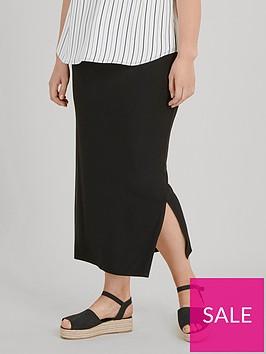 evans-side-split-skirt-black
