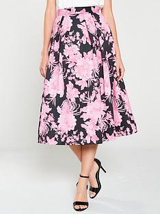 v-by-very-floral-pleated-midi-skirt-print