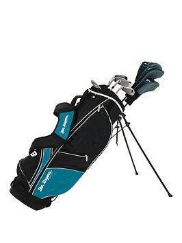 ben-sayers-ben-sayers-m8-8-club-package-set-turquoise-stand-bag-full-graphite-set-ladiesyouth