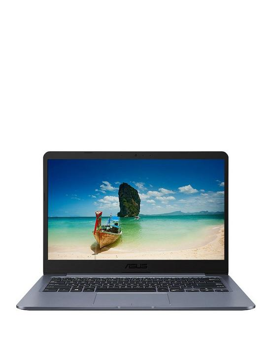 ASUS E406MA-BV009TS Intel Celeron 4G RAM 64G eMMC 14in Laptop with  Microsoft Office 365 Personal - Grey