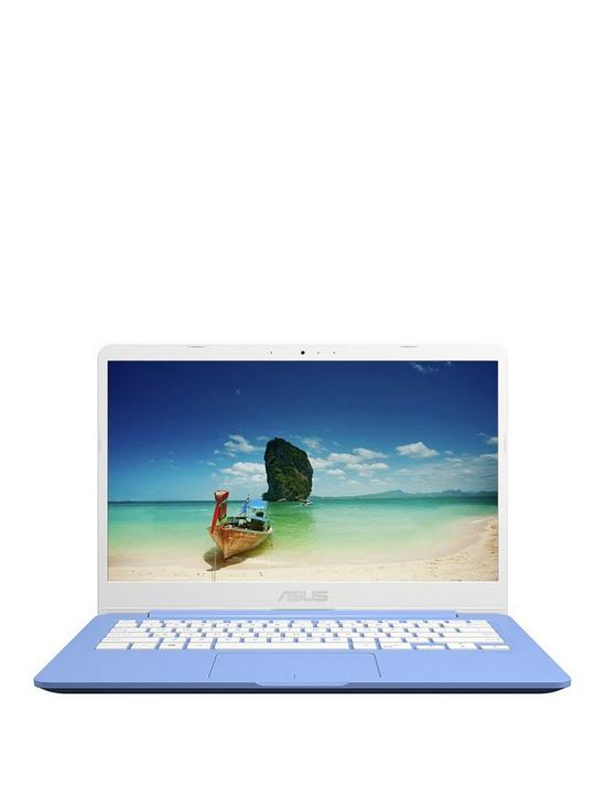 ASUS E406MA-BV211TS Intel Celeron 4G RAM 64G eMMC 14in Laptop with  Microsoft Office 365 Personal - Blue