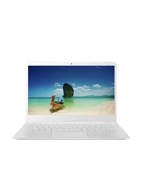 ASUS E406MA-BV010TS Intel Celeron 4G RAM 64G eMMC 14in Laptop with  Microsoft Office 365 Personal - White