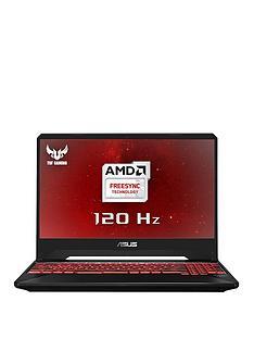 Asus ASUS TUF Gaming FX505DY-AL006T AMD Ryzen 5 8GB RAM 1TB54R + 256GB PCIE SSD 15.6in 120Hz PC Gaming Laptop AMD 4GB Dedicated Graphics RX560 4GB Black