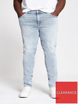river-island-big-and-tall-light-blue-skinny-jeans