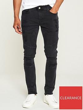 river-island-stinger-biker-jeans