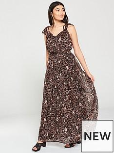 v-by-very-printed-dobby-maxi-dress-paisley