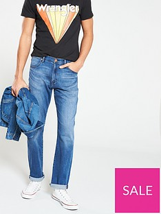 f2241f53 Wrangler Arizona Classic Straight Jean - Bright Stroke Blue