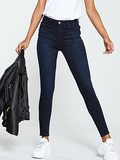 756cda9f8 V by Very Short Florence High Rise Skinny Jeans - Ink