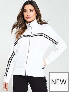 dkny-sport-full-zip-sports-stripe-zip-through-sweatshirt-whitenbsp