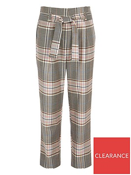 river-island-girls-check-tie-waist-trousers-pink