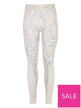 river-island-girls-ri-active-snake-print-leggings-white