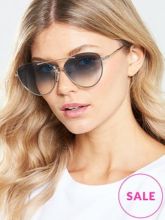 mcq-alexander-mcqueen-rounded-cat-eye-sunglasses-silver