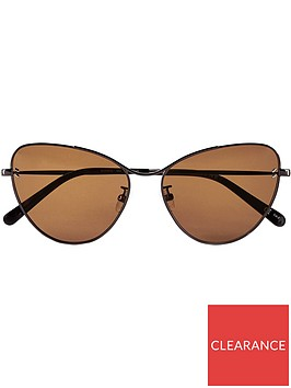 stella-mccartney-rounded-butterfly-sunglasses-brown