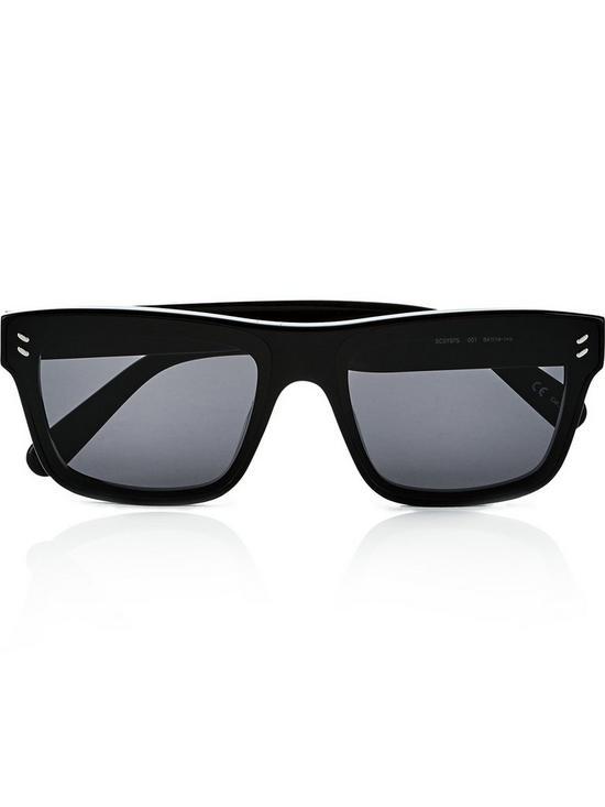 Flat Flat Wayfarer Sunglasses Sunglasses Flat Black Wayfarer Black VMqSULpzG