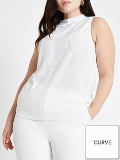 ri-plus-ri-plus-sequin-emebllished-high-neck-sleeveless-top-white