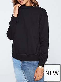 v-by-very-loungewearnbspthe-essential-basic-sweat-black