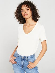 v-by-very-v-neck-cupro-t-shirt-white