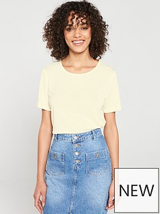 v-by-very-the-essential-premium-soft-touch-scoop-neck-t-shirt-cream
