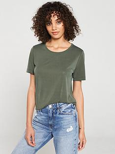 v-by-very-the-scoop-neck-cupro-tee-khaki