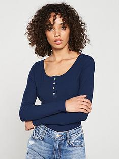 v-by-very-the-essential-long-sleeve-henley-tee-navy