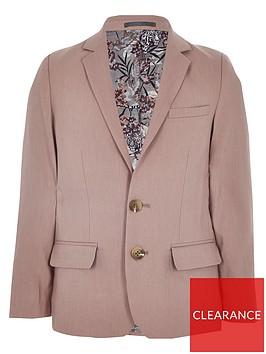 river-island-boys-linen-suit-blazer-pink