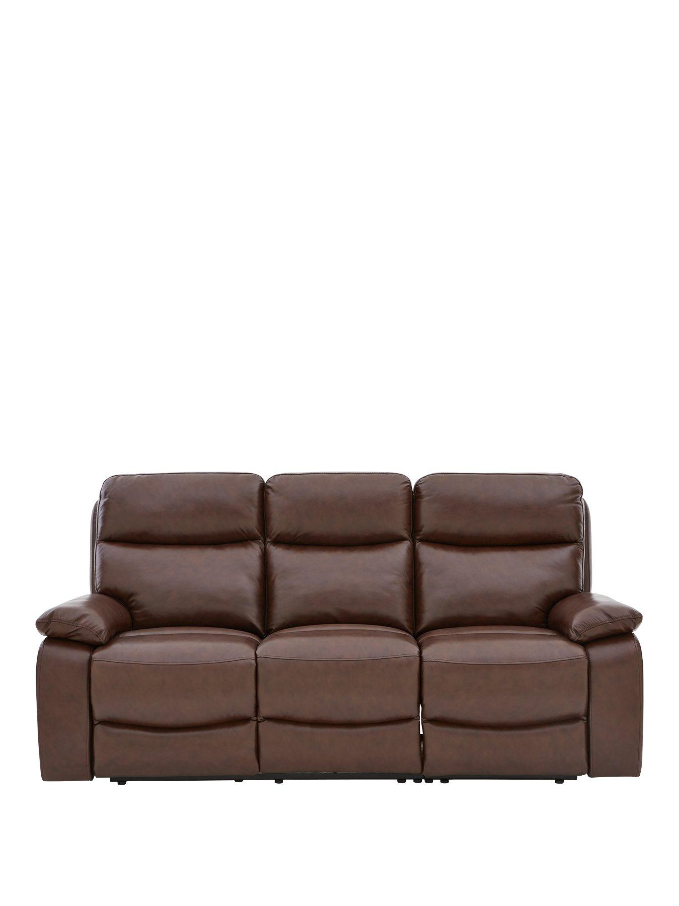 Leather | Recliner Sofas | Home & garden | very.co.uk