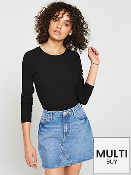 v-by-very-the-essential-ribbed-long-sleeve-top-black