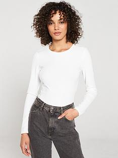 v-by-very-the-essential-ribbed-long-sleeve-tee-white