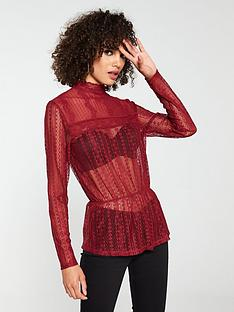 v-by-very-lace-peplum-top-berry