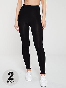 v-by-very-the-essential-2-pack-high-waist-leggings-black