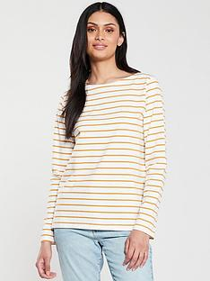 v-by-very-stripe-cotton-long-sleeve-top-cream-mustard