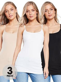 v-by-very-valuenbspthe-essential-3-pack-cami-top-black-white-nude